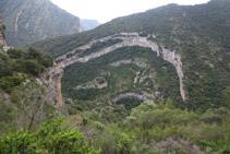 Desde el Serrat Pedregós tenemos unas muy buenas vistas del fondo del valle.