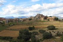 Pueblo de Hortoneda, situado a unos 1.000m de altitud, en la zona conocida como Conca de Dalt.