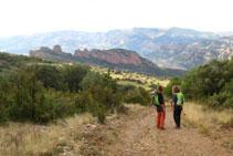 Bonitas vistas de la Roca Santa.
