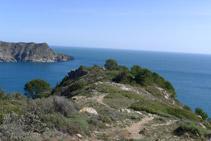 Nos dirigimos hacia la Punta de la Trona.