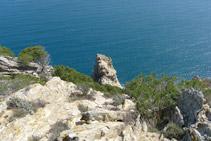 Punta de la Trona.