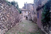 Callejón en la Vall de Santa Creu.