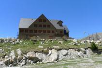 Antiguo albergue-refugio del Estany Gento.