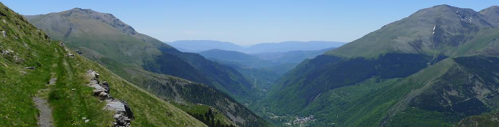 Carrilet del Estany Gento en la Vall Fosca