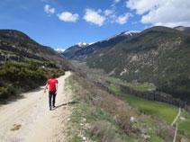 El valle de la Llosa.