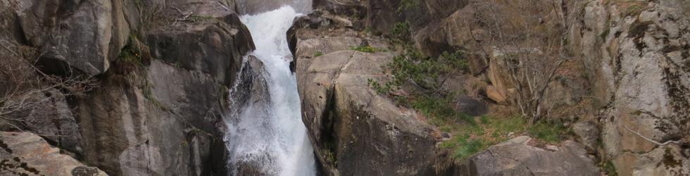 Cascada del Molí del Salt desde Viliella