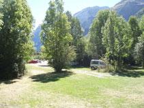 Llegamos al aparcamiento del valle de Pineta, punto final de nuestra excursión.