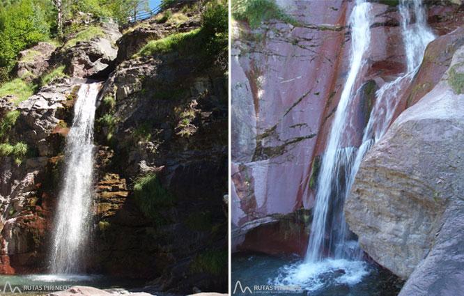 Cascada del Cinca y cascadas de Lalarri 1