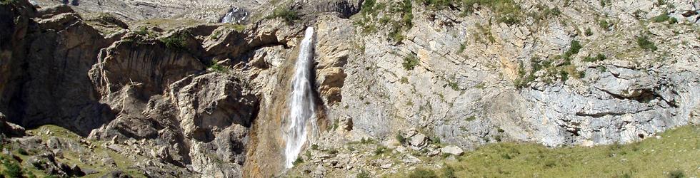 Cascada del Cinca y cascadas de Lalarri
