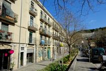 Plaza de Sant Pere de Galligants.
