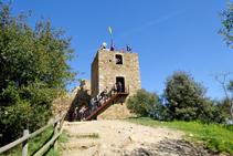 Torre del castillo de Sant Miquel.