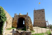 Restos de la iglesia de Sant Miquel.