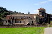 Monasterio benedictino de Sant Daniel.