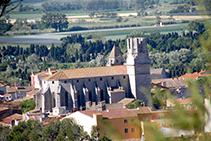 La iglesia de Sant Genís en Torroella.