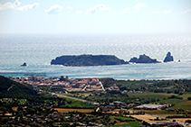 La llanura aluvial del Ter, el Estartit y las islas Medas.