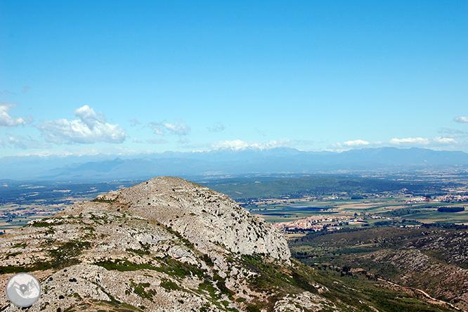 Castillo del Montgrí y zona de interès natural de les Dunes 1