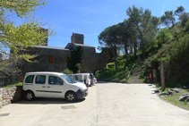 Extremo SO del monasterio.