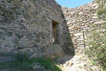Ruinas del castillo de Sant Salvador.
