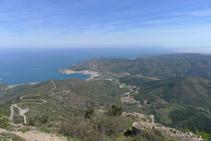 Vistas del Puerto de la Selva (NE).