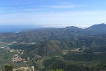 Vistas de la punta del Cabo de Creus (E).