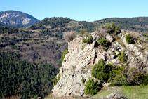 Restos del castillo de Cava.