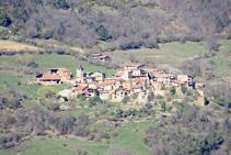 Vistas del pueblo de Ansovell.