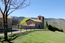 Iglesia de Sant Climent de Cava.