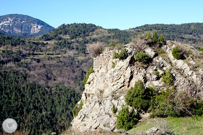 Cava y Querforadat en la cara norte del Cadí 1