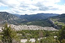 Vistas desde el mirador de Cap Deig.