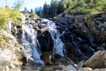Cascada de Aigües Tòrtes.