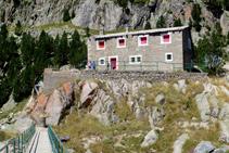 Refugio viejo de Colomèrs.
