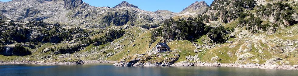Circo y lagos de Colomèrs desde el Plan des Banhs