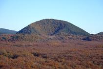 El volcán del Croscat.
