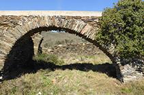Ruinas del antiguo corral de Ses Closes.