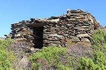 Cabaña cerca del collado de Sa Perafita.