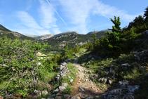 Camino de la Cerdaña y sierra del Cadí.