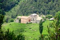 La pequeña aldea de Sorribes.