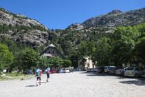 El emblemático refugio Casa de Piedra, en la zona de Baños de Panticosa.