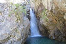 Cascada del río Caldarés.