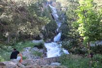 Cascada de Argualas.