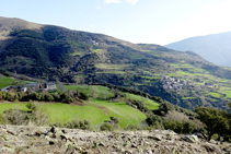 Masía de Santa Creu, Enviny y Montardit de Dalt.