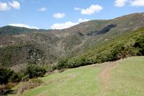 Montaña de Estac.