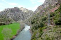 La Noguera Pallaresa camino a Arboló.