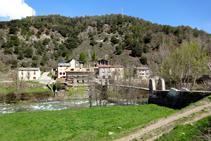 El puente de Arcalís y Baro.