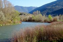 El río Noguera Pallaresa.