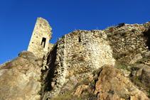 Castillo de Sant Pere de Ribes de Freser.