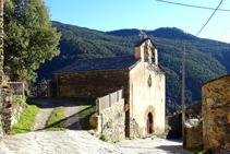 Iglesia del Serrat.