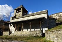 Iglesia de Sant Sadurní de Fustanyà.