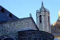 Campanario de Santa Maria de Ribes.