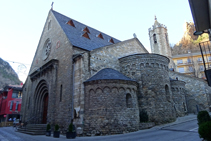 Iglesia de Santa Maria de Ribes de Freser.